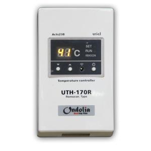 Терморегулятор UTH-170R  накладной, программируемый таймер, с пультом дистанционного управления
