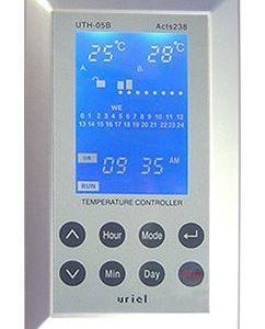 Терморегулятор UTH-05B Накладной, программирование на неделю, таймер, блокировка